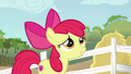 Apple Bloom giving a nervous smile S6E14.png