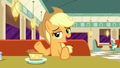 "Applejack ""eatin' soup, stirrin' gumbo"" S6E9.png"