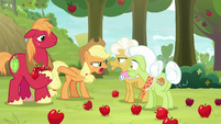"Applejack ""pretendin' the Great Seedlin' did it"" S9E10"