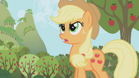 Applejack takes the challenge S1E4