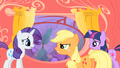 Applejack telling Rarity I told you so S1E08.png