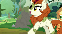 Autumn Blaze -scared of a little pain- S8E23