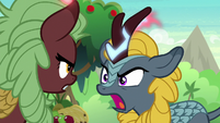 Blue Kirin spouting hurtful words S8E23