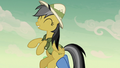 Daring Do being celebrated by the villagers S7E18.png