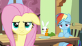 Fluttershy's frustrated scowl S6E11.png