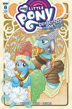 Legends of Magic issue 8 cover A