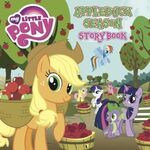 MLP Applebuck Season Storybook cover