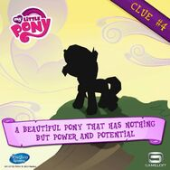 MLP mobile game Sunset Shimmer clue 4