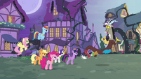 Main six and Discord reach an impasse S4E01