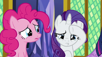 Pinkie Pie and Rarity start to cry S9E26