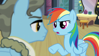 Rainbow -That's not what being a Wonderbolt is about- S5E15