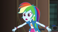 "Rainbow Dash ""I can't believe I lost them!"" EGS2"