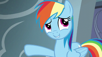 Rainbow Dash --churning out Wonderbolts-- S6E7