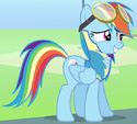 Rainbow Dash cadet ID S3E7