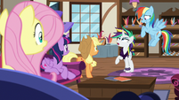 "Rarity ""magical remover potion on my mane"" S7E19"