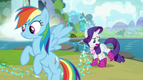 "Rarity ""these boots were not made for trotting"" S8E17"