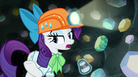 "Rarity ""you catch the gems, dear"" S9E19"