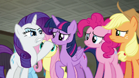 Rarity --everything has to be perfect-- S6E9