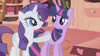 Rarity -allow us to treat you to dinner- S1E03