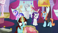 Rarity discusses her plans with Sassy Saddles S5E14.png