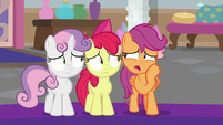 "Scootaloo ""wanted to be invited inside"" S8E12"