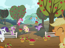 Suit apple acres