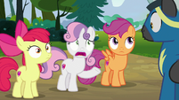 "Sweetie Belle ""he couldn't toss a horseshoe"" S7E21"