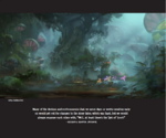 The Art of MLP The Movie page 60 - swamp artwork
