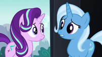 Trixie --nopony's ever offered to help before-- S6E6
