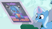 Trixie unveils her promotional poster S6E6