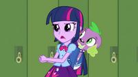 Twilight e Spike ''precisamos fazer uma peaquisa'' EG