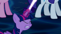 Twilight fires at the Tantabus again S5E13