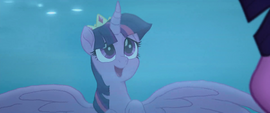 "Twilight singing ""more than just a crown"" MLPTM"