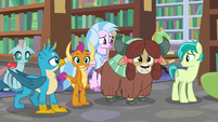Young Six looking confused S8E22