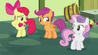"Apple Bloom ""great acting, Sweetie Belle!"" S8E12"