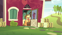 "Applejack ""we have actual work to do"" S9E10"