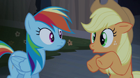 Applejack reused animation S04E03