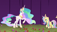 "Celestia ""it seems our play was a success"" S8E7"