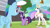 Celestia -cheer squad was an inspiration- S9E15