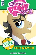 Comic issue 47 cover A