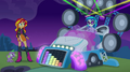 DJ Pon-3's car in its transformed state EG2.png