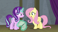"Fluttershy ""the rest is easy"" S8E7"