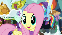 "Fluttershy ""will that help, Twilight?"" MLPBGE"