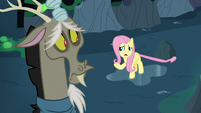 Fluttershy Changeling --we're probably all changelings-- S6E26