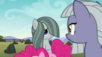 Limestone and Marble look at each other S8E3