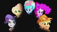 Main five on darkened background EG2