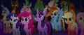 Mane Six listening to Songbird Serenade MLPTM.png