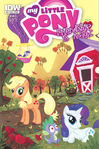 My Little Pony comic issue 2 cover RI-A