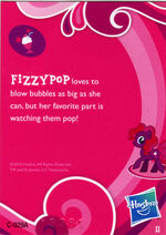 Mystery Pack Fizzypop Card back