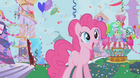 Pinkie Pie's dream of the Gala S01E03
